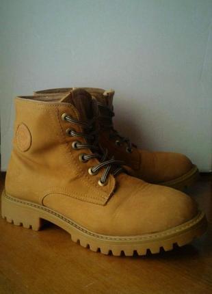 4953dce4f5f746 Модные женские ботинки marco piero 37 р (нубук, зимние, цвета тимберленд)