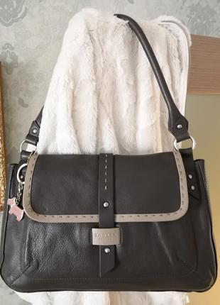 Роскошная кожаная сумка radley