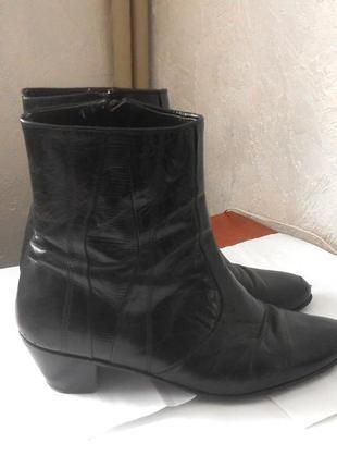 Кожаные удобные демисезонные ботинки donattelli, р.42  код f4202