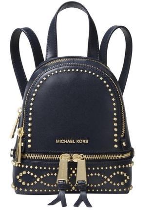 Кожаный рюкзак michael kors rhea мини оригинал