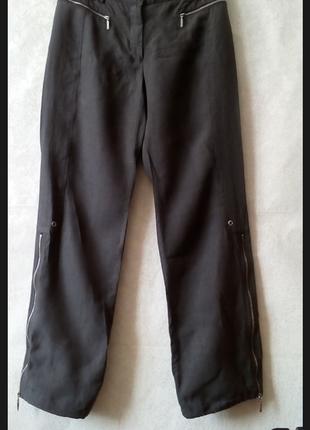 Брендовые брюки карго 💯% лён льняные брюки бриджи  от marc cain