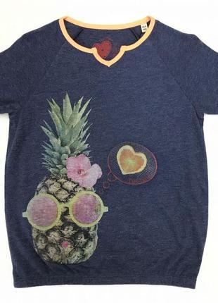 Новая футболка для девочки ананас, tom tailor, 196212