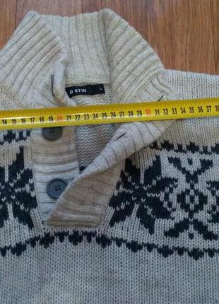 Очень теплый и красивый свитер от ostin