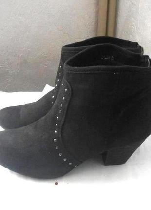 Фирменные ботинки ботильоны new look, р.42 код f4201
