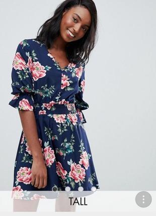 Нереально красивое платье с цветочным принтом