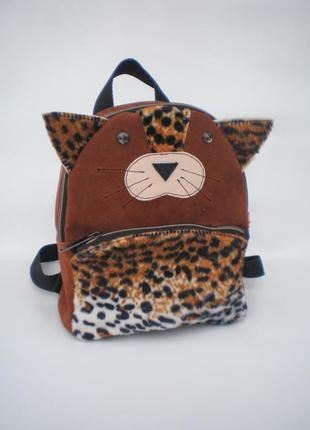 "Детский рюкзак ""леопардик"" handmade"
