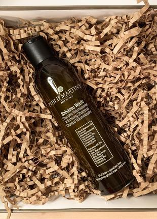 Шампунь для объема волос philip martin's babassu wash volumizing shampoo 250ml.