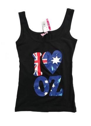 Майка их хлопка, новая с бирками, австралийский бренд supre