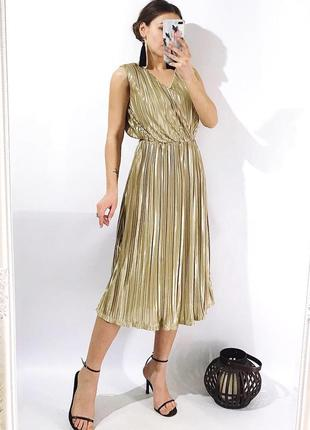603ae44344f4 Женские золотые вечерние платья 2019 - купить недорого вещи в ...