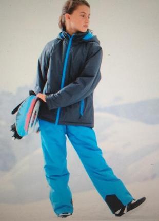 Костюм, детский, зимний, тёплый, лыжный, pocopiano, 10 лет, размер 128/140