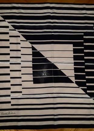 Шелковый платок в принт от christian fisсhbacher!
