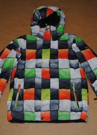 Quiksilver мужская горнолыжная сноубордическая куртка квиксльвер