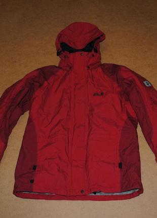 Jack wolfskin 2в1 теплая куртка зима джек с подкладом