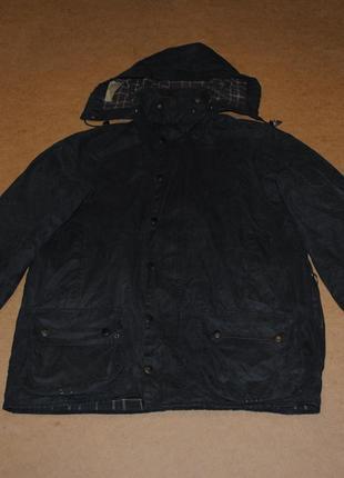Barbour wax вощеная куртка барбур вакс с капюшоном