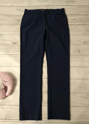 Вискозные очень стрейчевые брюки от бренда grandiosa на высокую девушку, размер 20/22