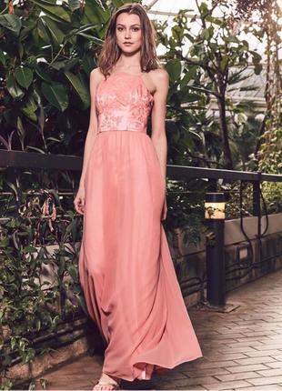 Распродажа! роскошное выпускное платье с кружевным топом