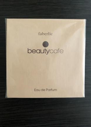Парфюмерная вода beauty cafe от faberlic