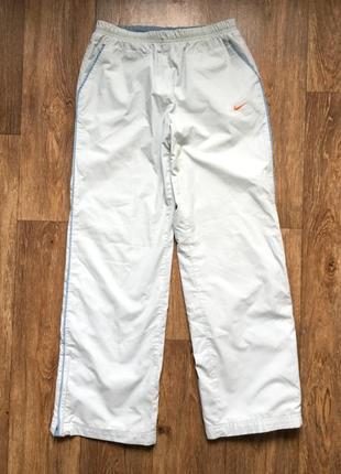 Светло-голубые спортивные брюки штаны nike