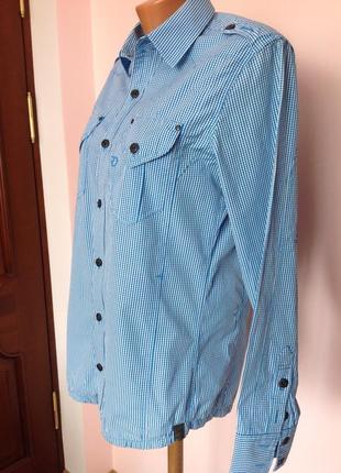 Спортивная котоновая рубашка. /m/ brend g- star