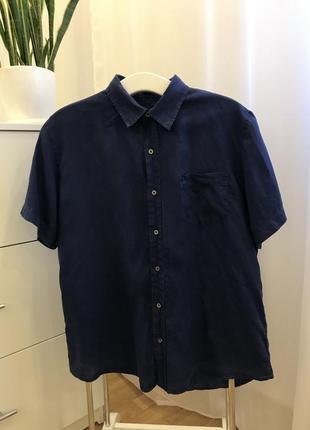 Распродажа!!! льняная рубашка от mavi xxl