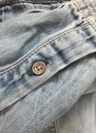 Джинсовая рубашка guess5 фото