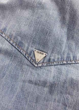 Джинсовая рубашка guess4 фото