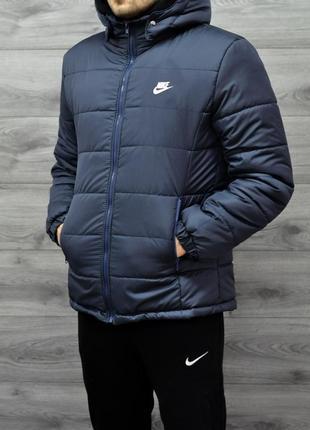 Новая,красивая стильная,фирменная зимняя теплая курточка парка утеплитель nike