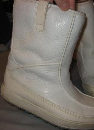 Сапоги ботинки timberland оригинал размер 39 по стельке 25 см без дефектов кожа и мех