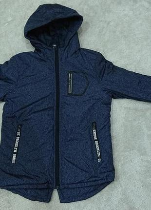 Куртка подростковая сезон весна - осень (размер 8,10 12,14,16)