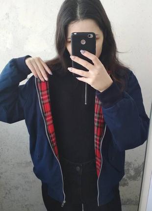 Куртка бомбер ветровка объемная на змейке теплая весенняя скидка 23.01