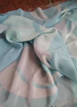 Невероятно нежный швейцарский шёлковый платок louis widmer