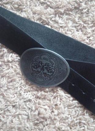 Кожаный стильный пояс от « zara»
