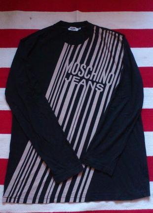Кофта лонгслив свитшот футболка с длинным рукавом moschino