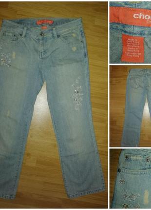 Жіночі, джинсові бриджі