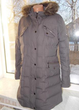 """Р. m """"yessica"""" германия,зимнее пальто/пуховик натуральный пух, в идеале"""