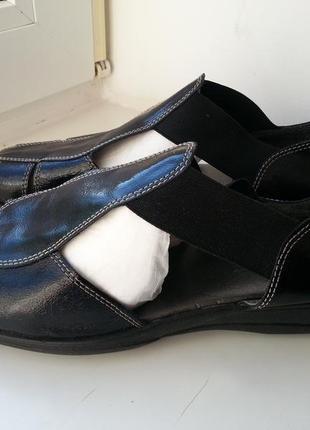 Новые кожаные сандалии footglove wider fit 37-38р. (24,5 см)
