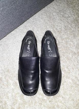 Кожаные туфли фирмы go soft