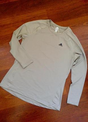 48-50р. компрессионная спорт футболка-кофта adidas techfit climalite