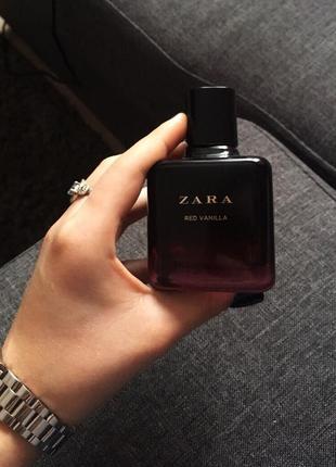 Новые духи zara red vanilla