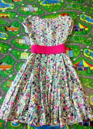 Платье весеннее летнее