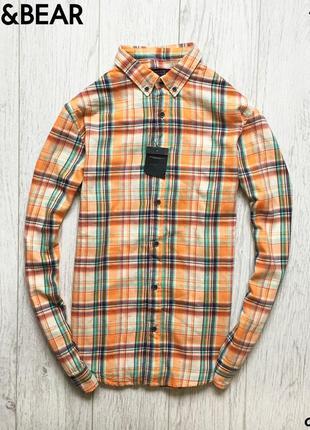 Мужская рубашка pull&bear - new!!