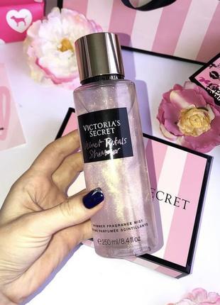 Мист, спрей для тела victoria's secret, vs pink, виктория сикрет velvet petal