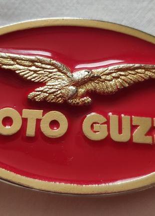 Пряжка moto guzzi