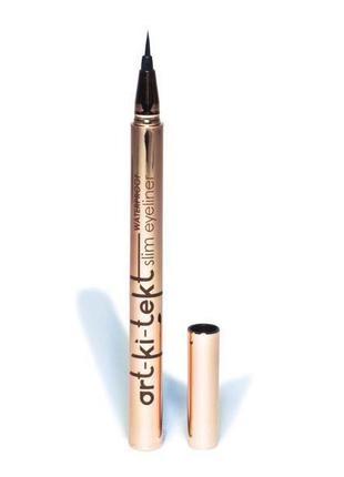 Водостойкая подводка фломастер art-ki-tekt slim eyeliner pen