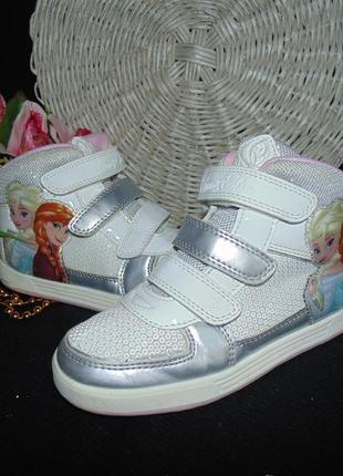 4384defe Гламурные кроссовки сникерсы george 32р,ст 20,5 см.мега выбор обуви ...