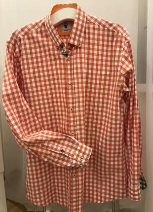 Распродажа!!! шикарная яркая рубашка xxl
