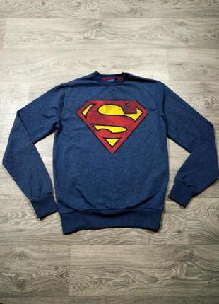 Свитшот кофта superman dc comics (batman, marvel avengers )