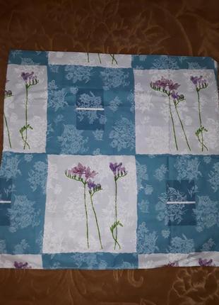 Наволочки 80×80 2 шт. цветы