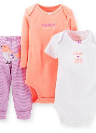 Комплект картерс для новорожденны девочек