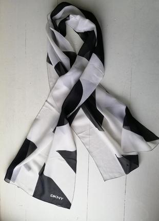 Dkny donna karan шёлковый шарфик